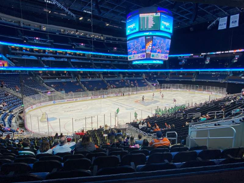 Seating view for Amway Center Section HC39 Row GA Seat 7