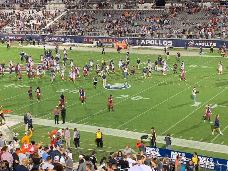 Seating view for Spectrum Stadium Section 224 Row 7 Seat 7