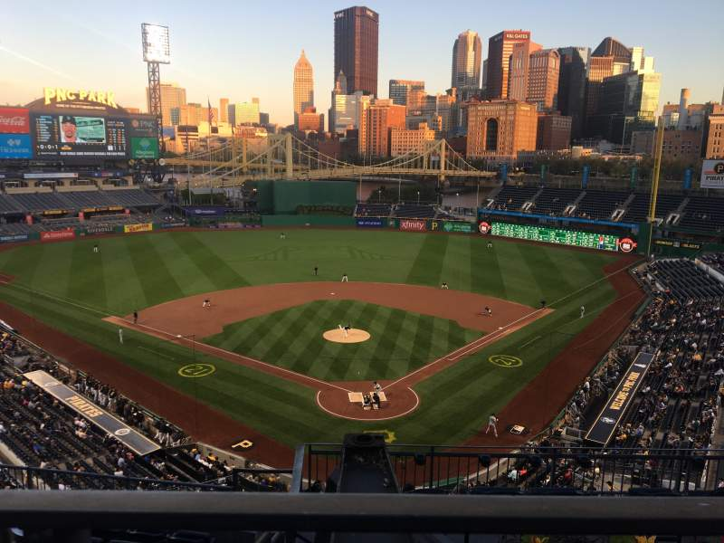 Seating view for PNC Park Section 316 Row A Seat 28