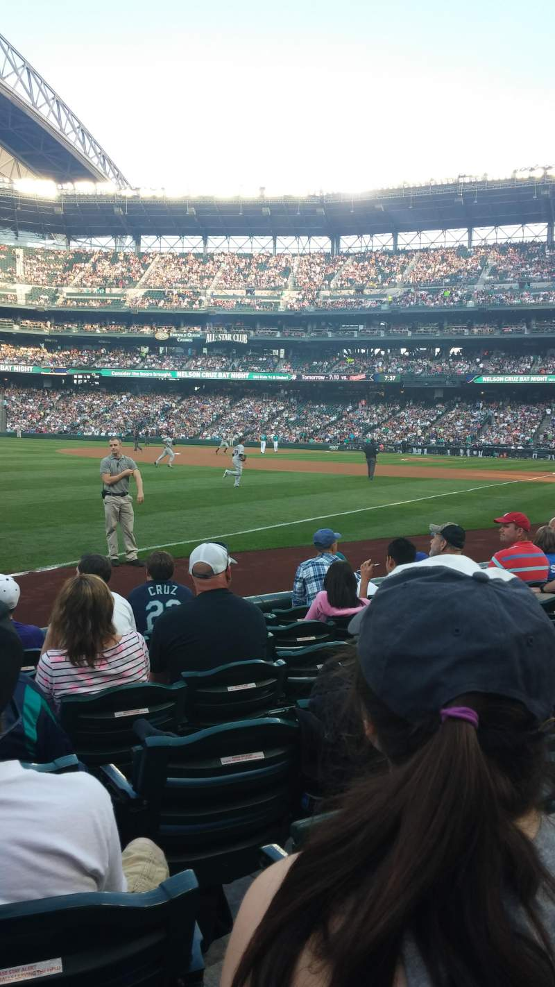 Seating view for Safeco Field Section 146 Row 7 Seat 18