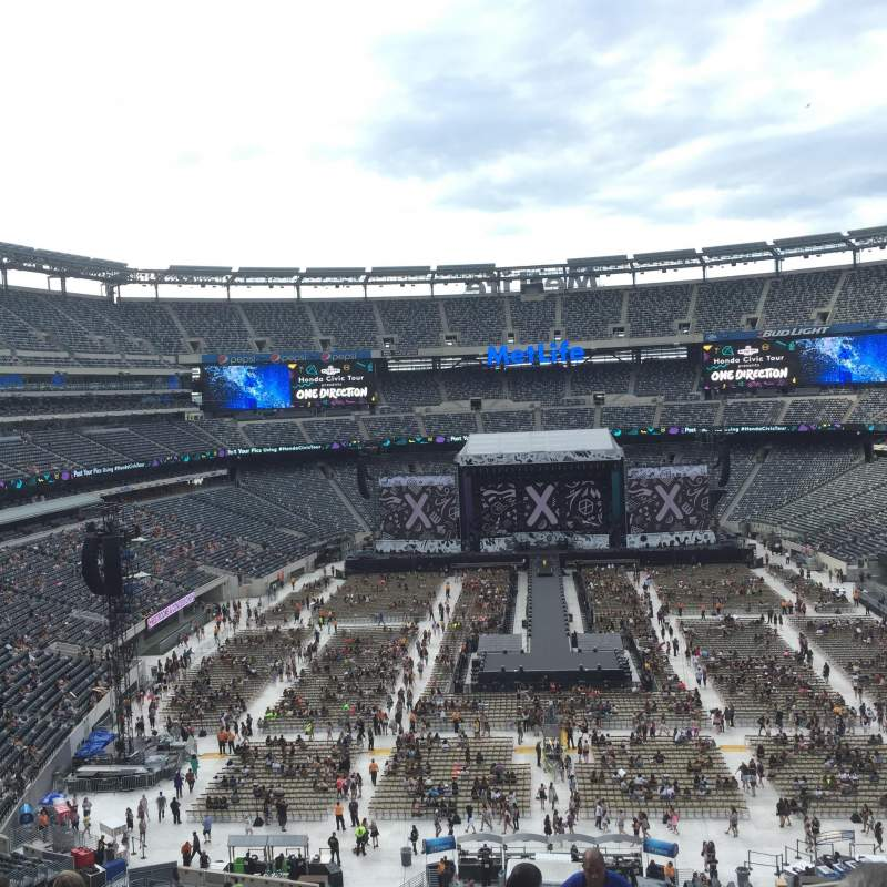 MetLife Stadium, section 226, home of New York Jets, New ...