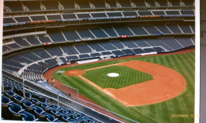 Seating view for Yankee Stadium Section 311 Row 2