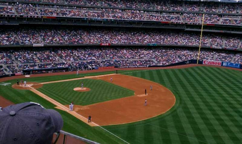 Seating view for Yankee Stadium Section 311 Row 2 Seat 5