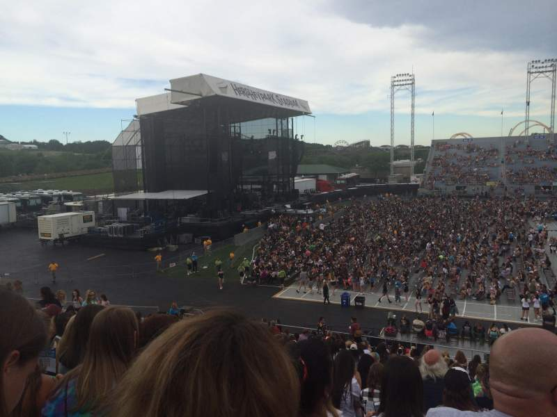 Seating view for Hershey Park Stadium Section 8 Row U Seat 5