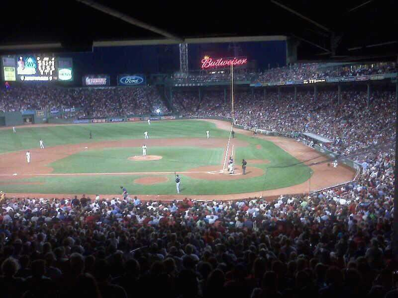 Seating view for Fenway Park Section Grandstand 23
