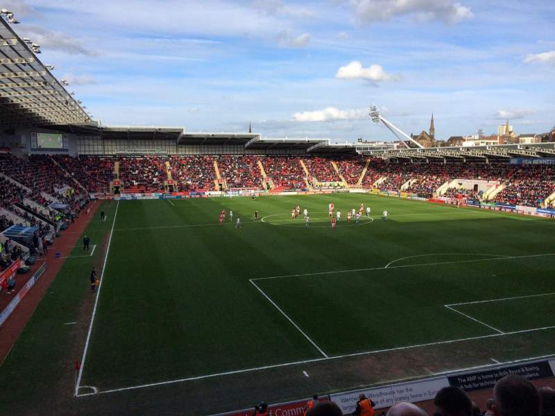 Seating view for New York Stadium Section SS6 Row P Seat 140