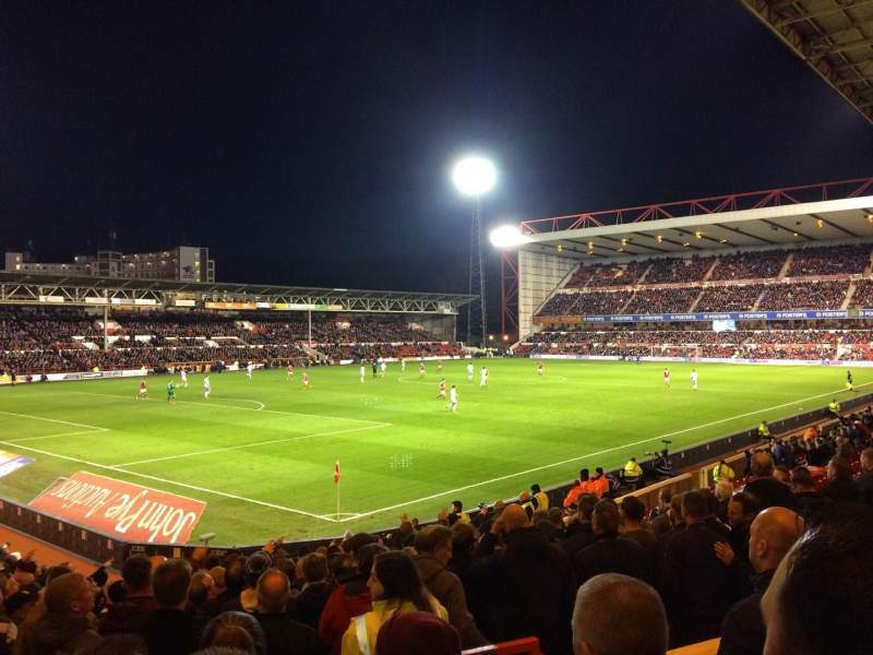 Seating view for City Ground Section W1 Row S Seat 35