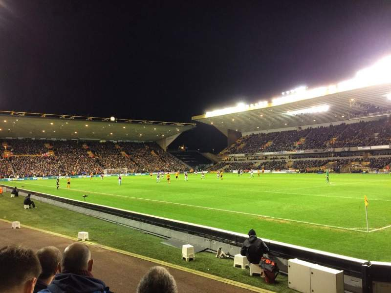 Seating view for Molineux Stadium Section JL2 Row E