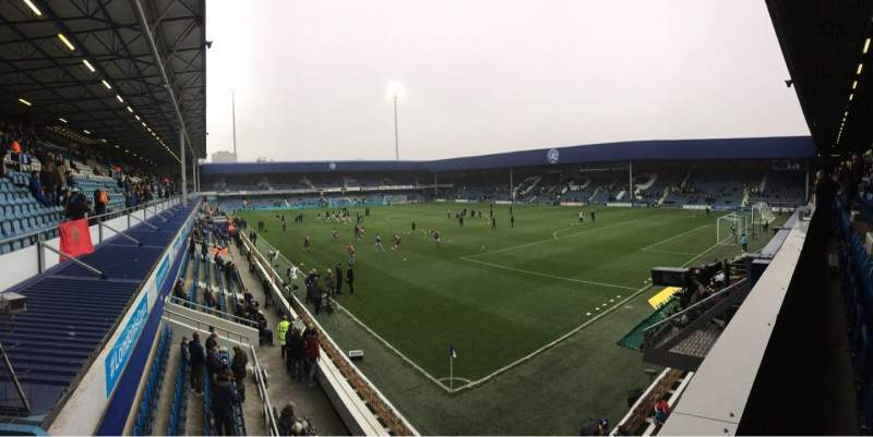 Seating view for Loftus Road Section Y2 Row B Seat 221