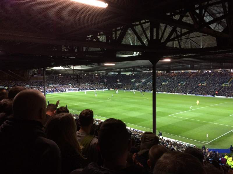 Seating view for Elland Road Section B1 Row R Seat 17