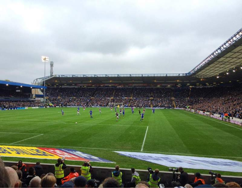 Seating view for St Andrew's Stadium Section GML2 Row 12 Seat 55