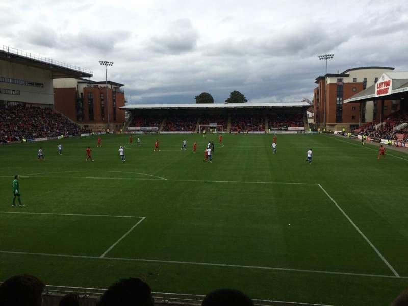 Seating view for Brisbane Road Section B Row H Seat 28