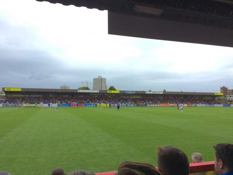 Seating view for Kingsmeadow Section Rygas Terrace