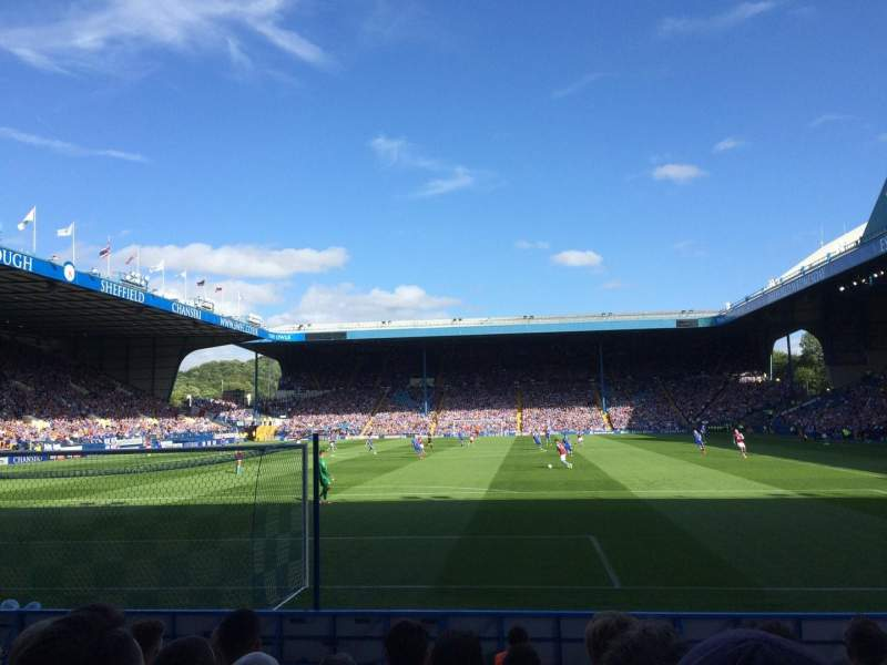 Seating view for Hillsborough Stadium Section WL4 Row J Seat 94