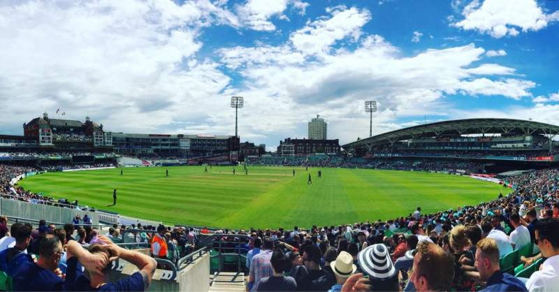 Seating view for Kia Oval Section 20 Row 22 Seat 655