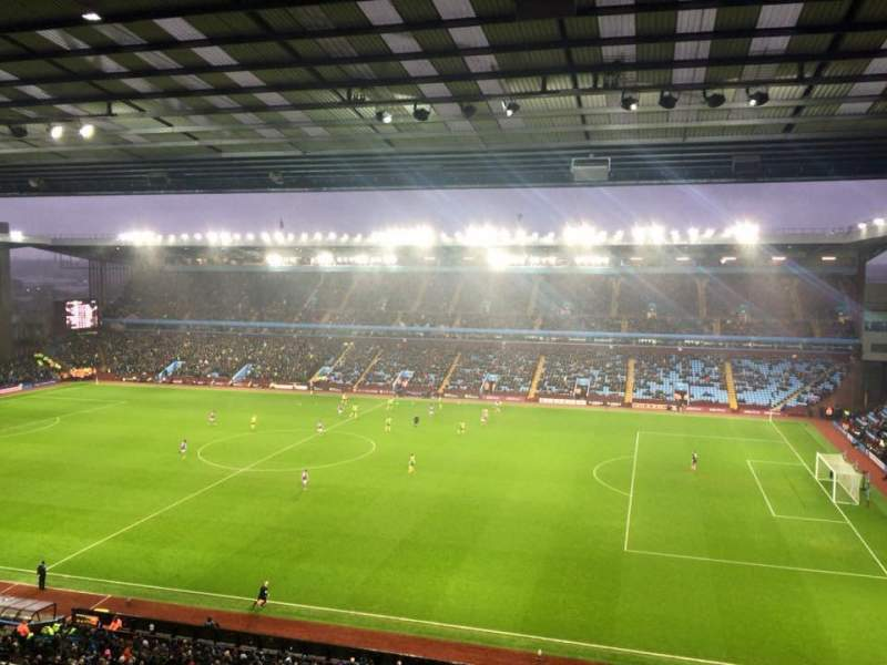 Seating view for Villa Park Section A2 Row E Seat 60