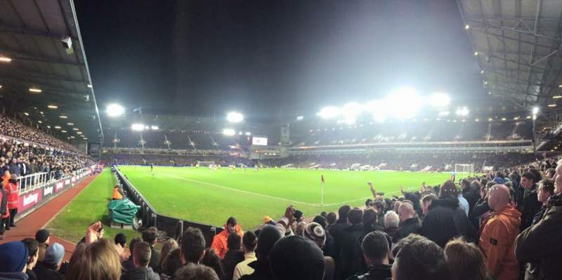 Seating view for Boleyn Ground Section STBL1 Row G Seat 10