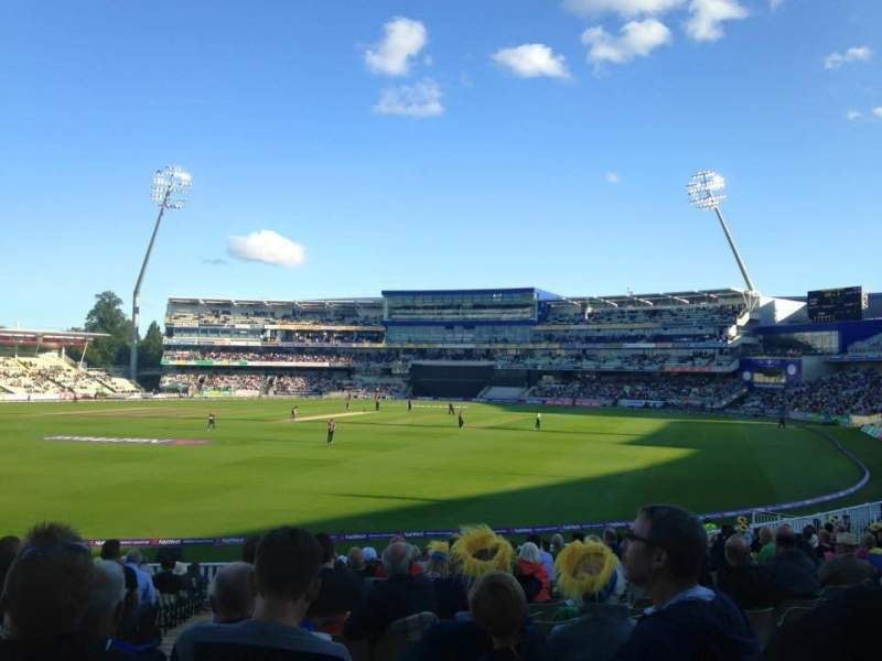 Seating view for Edgbaston Cricket Ground Section 10