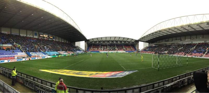 Seating view for DW Stadium Section NS5 Row E Seat 117