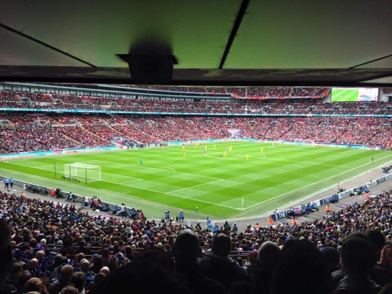 Seating view for Wembley Stadium Section 129 Row 44 Seat 199