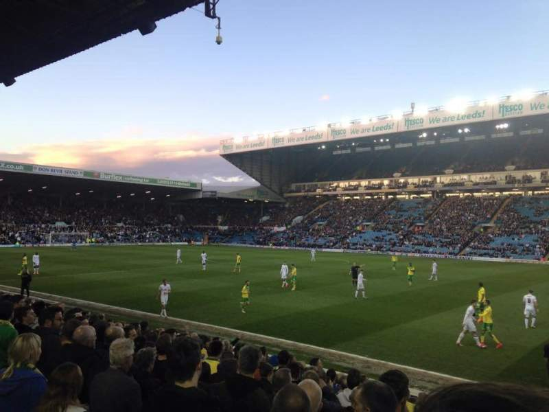 Seating view for Elland Road Section C16 Row PP Seat 42