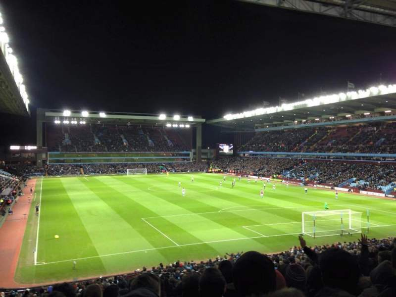 Seating view for Villa Park Section L7 Row OO Seat 199