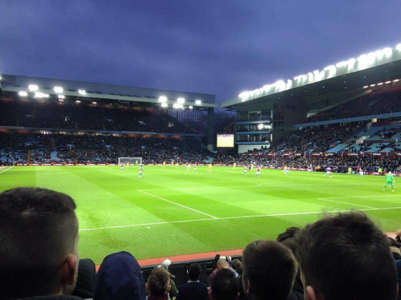 Seating view for Villa Park Section R2 Row L Seat 26
