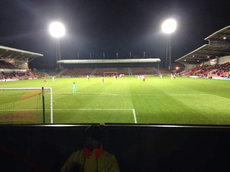Seating view for Racecourse Ground