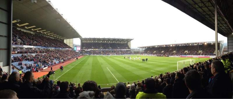 Seating view for Turf Moor Section 15 Row O Seat 115