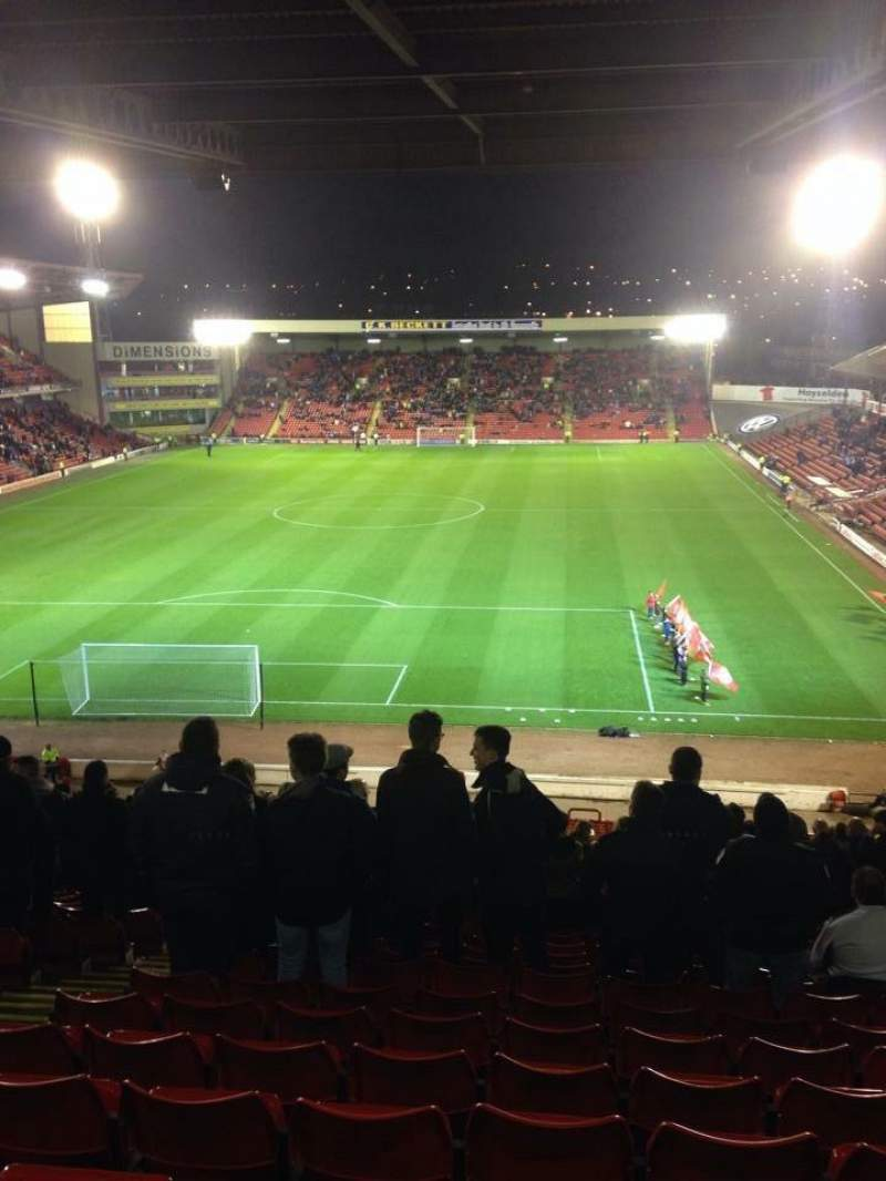 Seating view for Oakwell Stadium