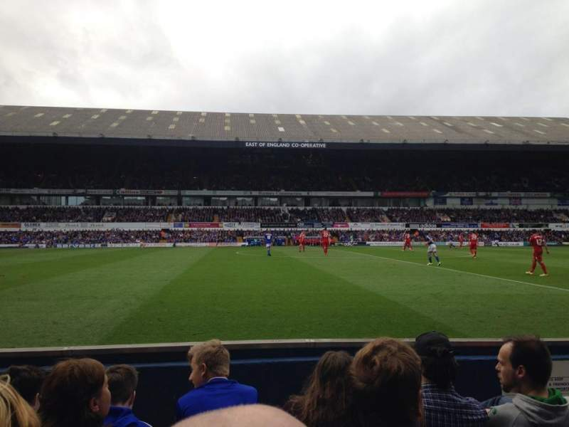 Seating view for Portman Road Section T Row E Seat 81