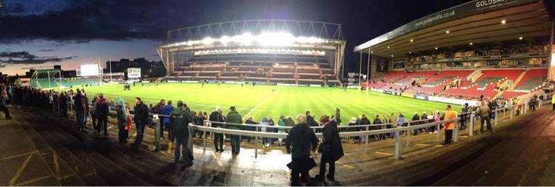 Seating view for Welford Road Stadium Section Terrace
