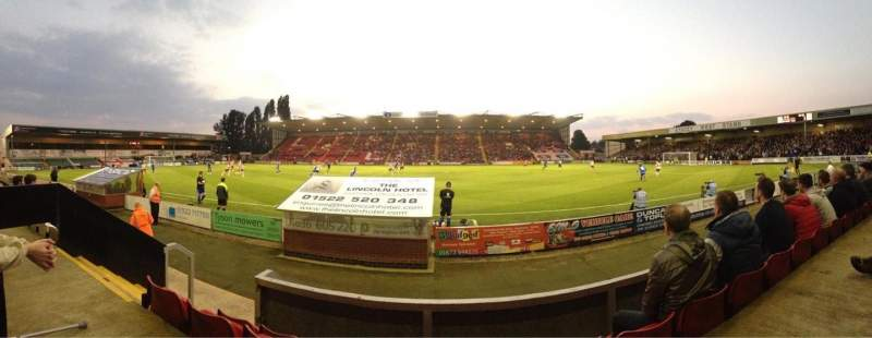 Seating view for Sincil Bank Section ECR