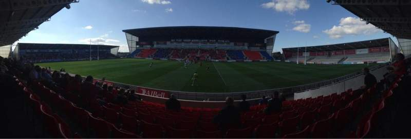 Seating view for AJ Bell Stadium Section E04