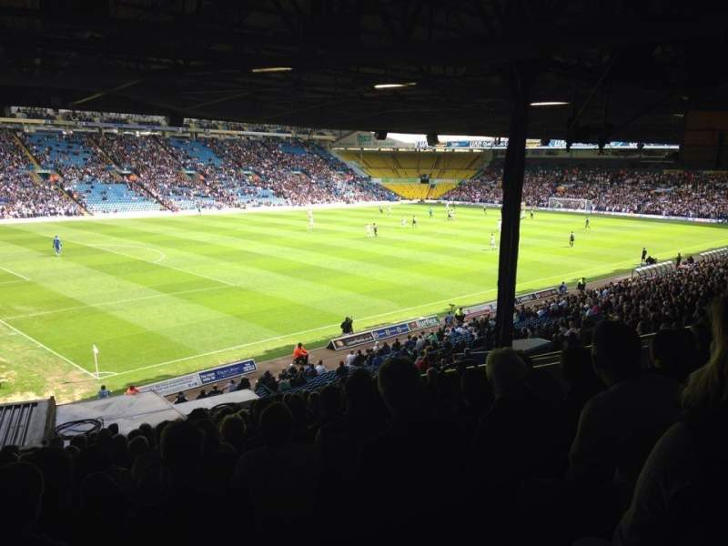 Seating view for Elland Road Section F23 Row S Seat 26
