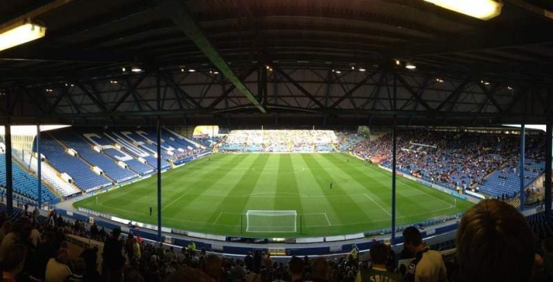 Seating view for Hillsborough Stadium
