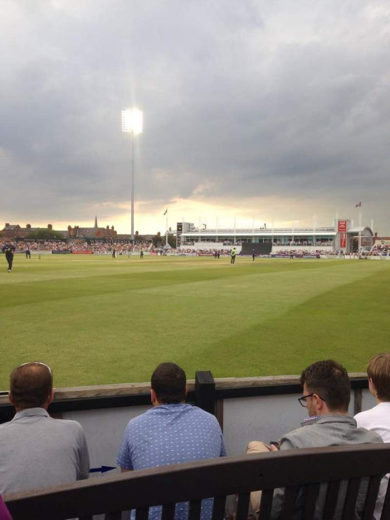 Seating view for The County Ground (Northhampton)