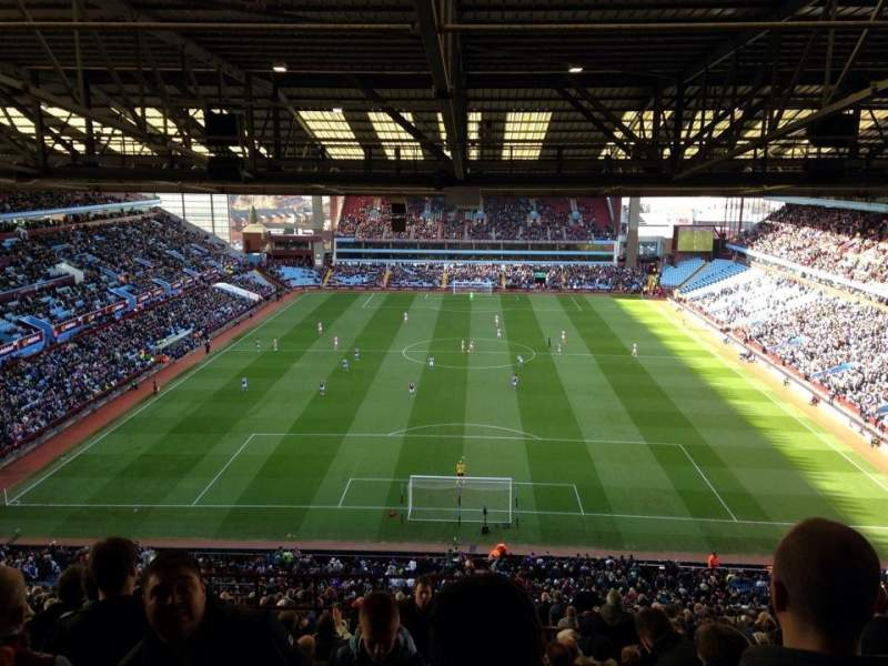 Seating view for Villa Park Section K4 Row 27 Seat 121