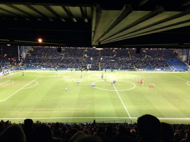 Seating view for Hillsborough Stadium Section R1 Row 48 Seat 90