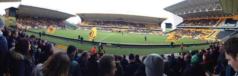 Seating view for Molineux Stadium Section JL5 Row H Seat 140