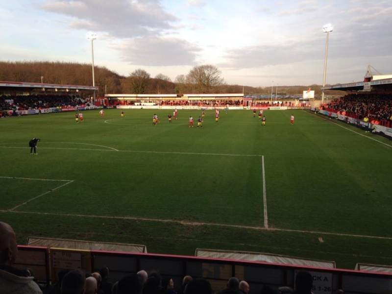 Seating view for Broadhall Way