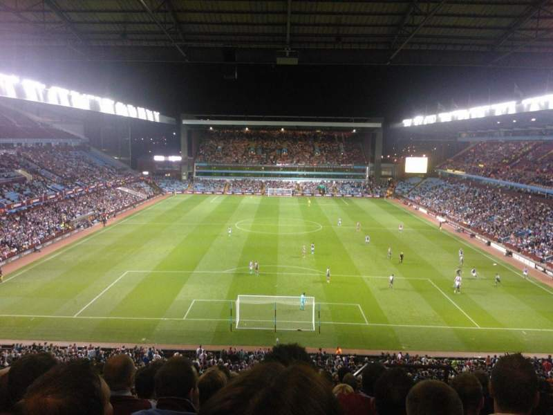 Seating view for Villa Park Section K5 Row 10 Seat 124