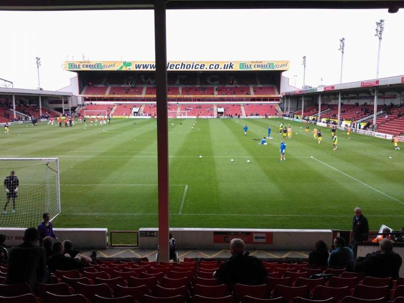 Seating view for Bescot Stadium Section H9