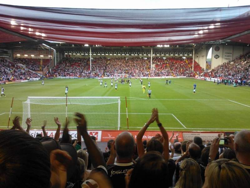 Seating view for Bramall Lane Section D