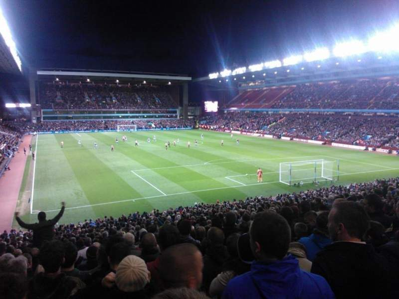 Seating view for Villa Park Section L7 Row NN Seat 198