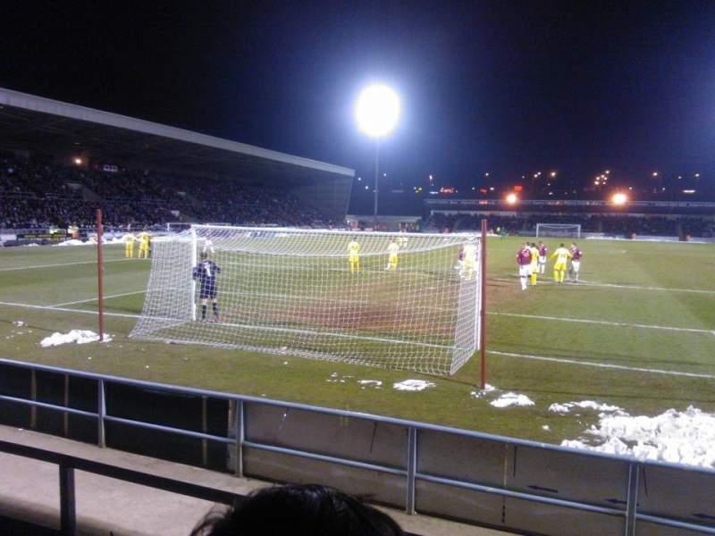 Seating view for Sixfields Stadium
