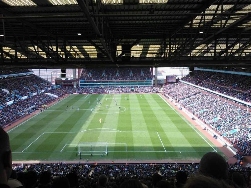 Seating view for Villa Park Section K4 Row 26 Seat 104