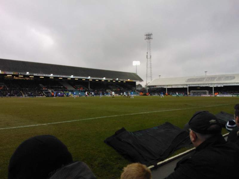 Seating view for London Road Stadium Section F Row C Seat 186