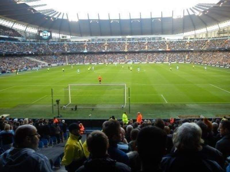 Seating view for Etihad Stadium (Manchester) Section 115 Row AA Seat 403