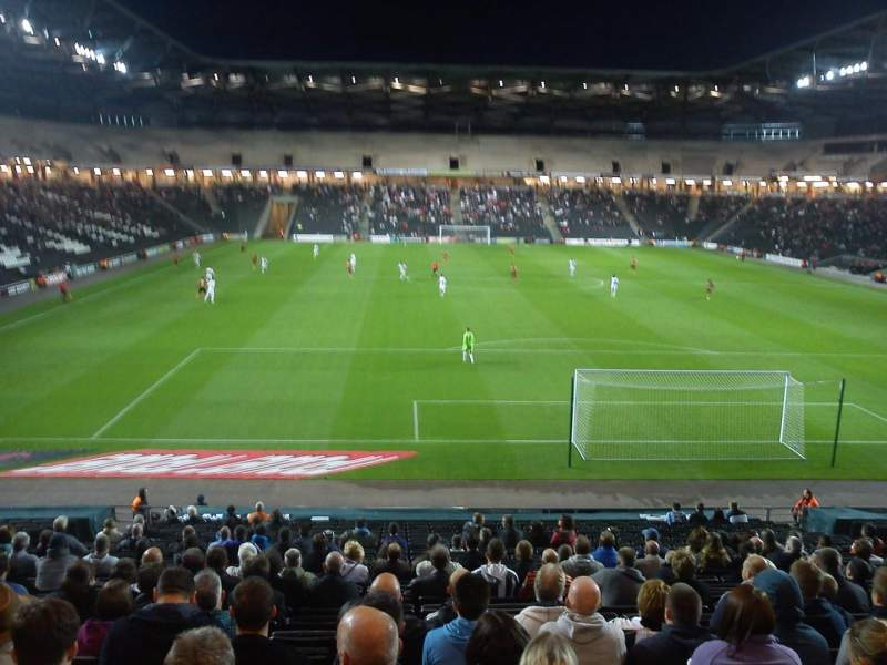 Seating view for Stadium:mk Section 33